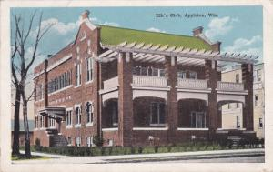 Elk's Club - Appleton WI, Wisconsin - pm 1919 - WB