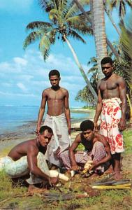 Fiji Preparing for a Feast  Preparing for a Feast