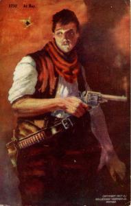 At Bay - Man Holding Gun