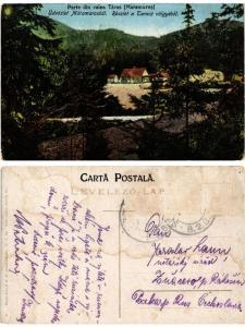 CPA TARAS MARAMURES Részlet Taracz völgyéb?l partie din valea. ROMANIA (500827)