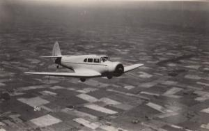 Fairchild 45 WW2 Plane Military Liverpool War Real Photo Aircraft Postcard