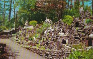 Alabama St Bernard Hillside Of Miniature Churches & Shrines The Ave Maria...
