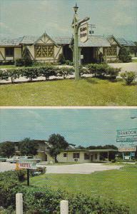 Florida Brandon Brandon Motor Lodge Town House Restaurant With Swimming Pool