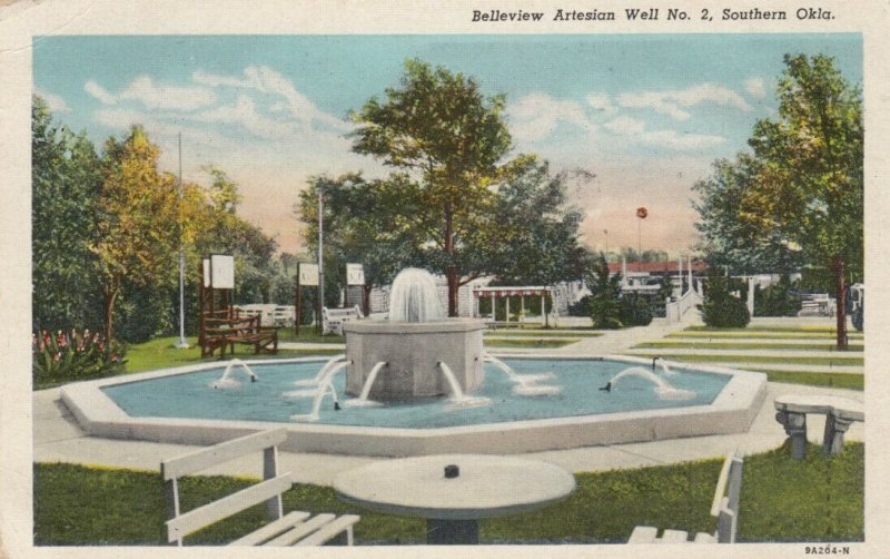 SOUTHERN OKLAHOMA, 10-20s ; Belleview Artesian Well No. 2
