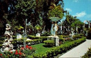 Florida Clearwater Kapok Tree Inn The East Garden 1970