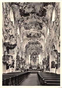 BG38976 kirche rottenbuch gegen hochaltar real photo    germany
