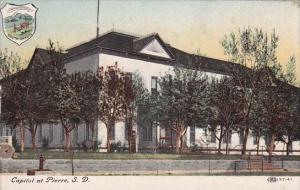 Capitol At Pierre South Dakota