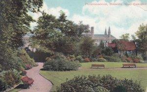 PETERBOROUGH , England , 1905 ; Bishops Road garden