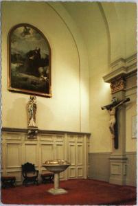 New Orleans, LA - St. Louis Cathedral  - baptismal font, St. Joseph, crucifix