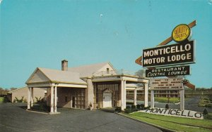 New Jersey Bellmawr Monticello Motor Lodge 1967 sk7532