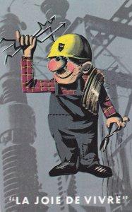 L'ELECTRICITE , Quebec, Canada, 50-60s ; La Joie De Vivre