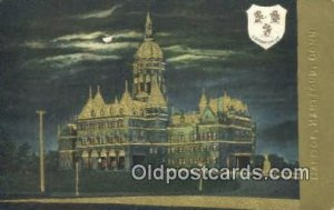 Hartford, Connecticut, CT State Capital USA 1909 light crease right bottom co...