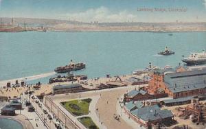 Aerial View, Landing Stage, Liverpool, Lancashire, England, United Kingdom,  ...