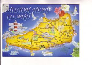 Pictural Map of Hilton Head Island, South Carolina, John McGraw Artwork