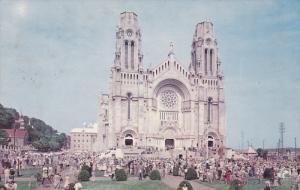 The Basilica, Ste-Ann De Beaupre, Quebec, Canada, PU-1958