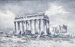 Greece Parthenon Athenes Parthenon