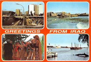 BG14361 multi views ship bateaux types  greetings from   iraq