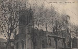 BELLEVILLE , Ontario, 1900-10s ; John Street Church