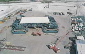 1940-1960's; John F. Kennedy Space Center N.A.S.A., Aerial View Of Crawler-Tr...
