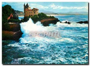 Modern Postcard Biarritz Pyrenees Atlantiques Cote d'Argent