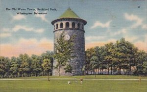 The old Water Tower Rockford Park Wilmington Delaware