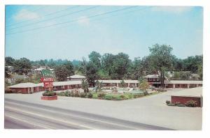 Cascades Motel US Hwy 41 Chattanooga TN Mr and Mrs TC Barrett Mgrs 1962 Postcard