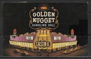 Nevada, Las Vegas - The Golden Nugget - [NV-009]
