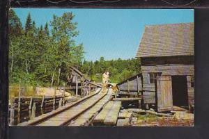 Fishing Dock,Baileys Harbor,WI Postcard