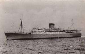 RP: Union Castle Line Steamer EDINBURGH at Sea