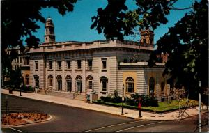 East Orange New Jersey~United States Post Office~Red Box on Corner~1950s