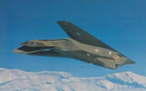 Lockheed F-117A Nighthawk Plane Aircraft Rare Postcard
