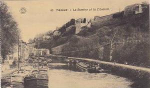 Belgium Namur La Sambre et la Citadelle