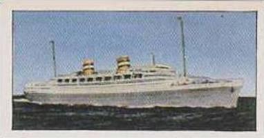 Golden Grain Tea Vintage Trade Card 1970 Passenger Liners No 7 Nieuw Amsterdam
