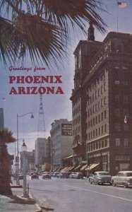 PHOENIX , Arizona , 50-60s ; South on Central Avenue