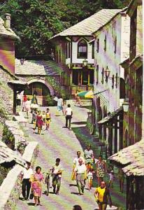 Boznia and Herzegovina Mostar Street Scene