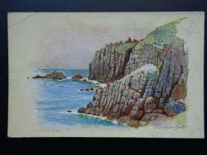 Cornwall LAND'S END c1930's Anne Croft Postcard by Vivian Mansell
