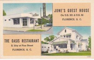 South Carolina Florence Jone's Guest House & Oasis Restaurant sk2311