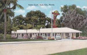 Florida Dade City Palms Court On U S 301 In Dade City