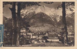 RP, Innsbruck Gegen Norden Vom Berg Isel, INNSBRUCK (Tirol), Austria, PU-1951