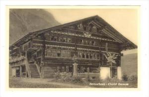 RP, Chalet Bernois, Bernerhaus, Switzerland, 1920-1940s