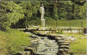 Tennessee Lynchburg Jack Daniels Statue and Spring Jack Daniel Distillery
