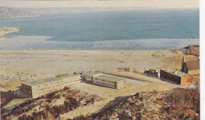 Aerial View, Hotel on the Shore, Baie Comeau, Quebec, Canada, 40-60´s