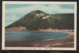 Colour PC Mont St Pierre East, Gaspe, P.Q. . unused