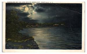 1925 Barcelona Bay on Lake Erie, Westfield, NY Postcard
