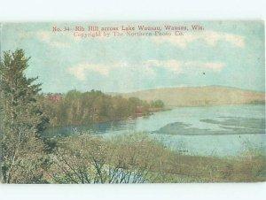 Divided-back LAKE SCENE Wausau Wisconsin WI AE5074