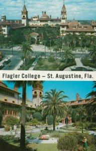 ST. AUGUSTINE, Florida, 50-60s; Flagler College, 2-views