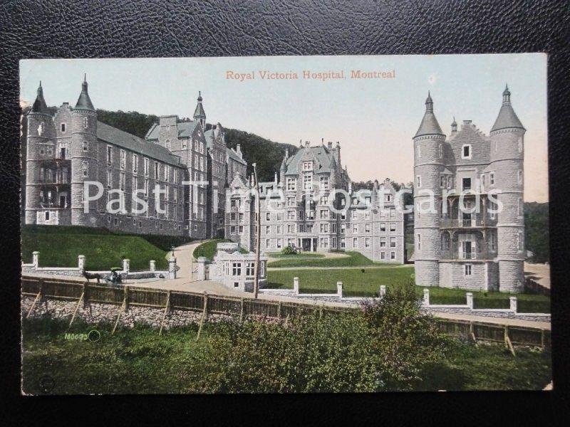 c1909 - Riyal Victoria Hospital, Montreal - Canada