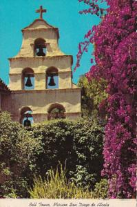 California Bell Tower Of The Mission San Diego de Alcala
