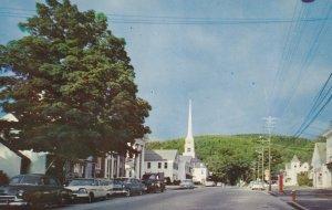 STOWE , Vermont , PU-1962 ; Main Street