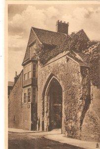 Castle Arch. Guildorf Tuck Sepia series PC # 2041